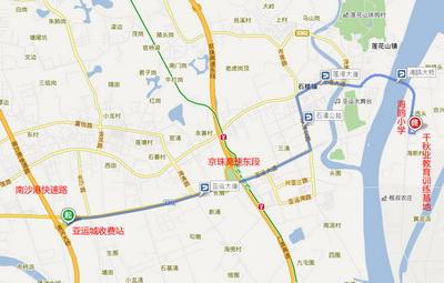 营区地图路线图